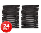 2 x Comfortel Professional Sectioning Clips 12-Pack - Black/Stainless Steel 1