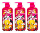 Warner Bros. Body Wash 1L 3-Pack - Looney Tunes 1