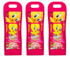 Warner Bros. Bath & Bubbles 400mL 3-Pack - Tweety Bird 1