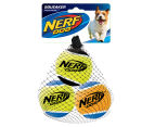 NERF Dog Medium Squeaker Tennis Balls 3-Pack 1