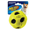 NERF Dog Large Squeaker Bash Tennis Ball - Green 1