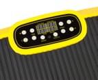 Vibration Machine Multiple Exercise Platform - Yellow 5