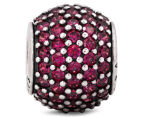 Pandora Red Pave Lights Ball Charm - Red 3