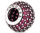 Pandora Red Pave Lights Ball Charm - Red 5