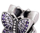 Pandora Sparkling Butterfly Charm - Silver/Purple 6