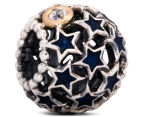 Pandora Night Sky Charm - Silver/12K Gold/Midnight Blue 1
