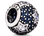 Pandora Follow The Stars Pavé Charm - Silver/Midnight Blue 1