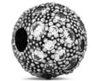 Pandora Cosmic Stars Clear Clip Charm - Silver 1