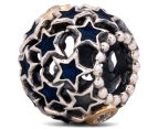 Pandora Night Sky Charm - Silver/12K Gold/Midnight Blue 2