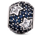 Pandora Follow The Stars Pavé Charm - Silver/Midnight Blue 3