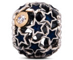 Pandora Night Sky Charm - Silver/12K Gold/Midnight Blue 3