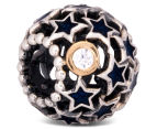 Pandora Night Sky Charm - Silver/12K Gold/Midnight Blue 5