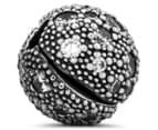 Pandora Cosmic Stars Clear Clip Charm - Silver 5