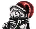 Pandora Christmas Bear Charm - Silver/Red 6