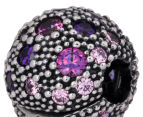 Pandora Cosmic Stars Clip Charm - Silver/Multicolour Purple 6