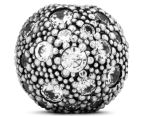 Pandora Cosmic Stars Clear Clip Charm - Silver 6