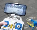 Xtreem Sky Ranger Quadcopter 720p WiFi Camera Drone - Yellow/Blue 4