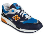 New Balance Men's 1600 Elite Edition Classic Sneaker - Navy/Blue/Orange 2