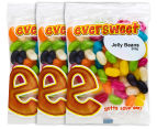 3 x Eversweet Jelly Beans 200g 1