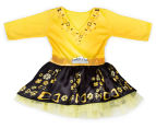 The Wiggles Girls' Size 1-3 Years Emma Ballerina Dress Up Costume - Yellow/Black 1