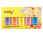 Warner Bros. Tweety Bird Nail Polish 5-Pack Set  1