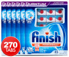 6 x Finish Quantum Powerball with Baking Soda Dishwashing Caps 45pk 1
