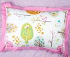 Living Textiles Baby Love Birds Single Bed 3-Piece Comforter Set - Pink 2