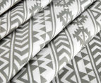 Living Textiles Baby 2-Piece Tribal Cot Sheet Set - Grey 3