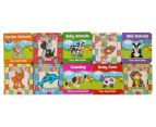 My Little Patchwork Animals 10-Book Pack w/ Storage Case 4