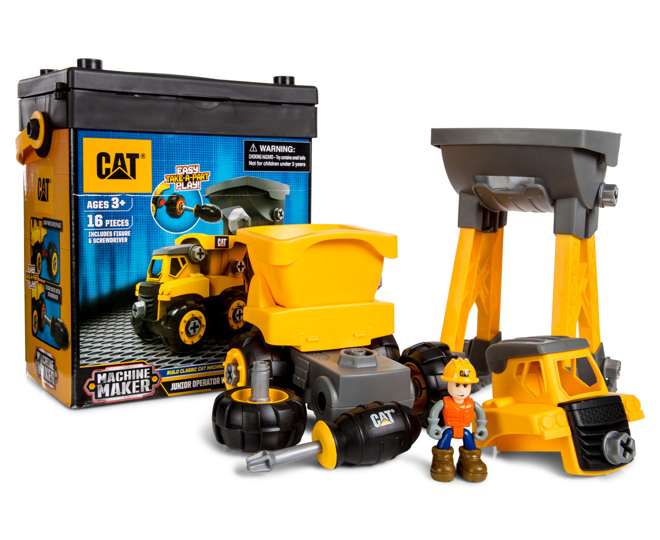 Construction Site Toys For Boys : Catchoftheday cat construction junior operator