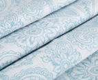 Living Textiles Henna Smart-Swaddle Muslin Wrap - Blue 4