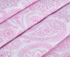 Living Textiles Henna Smart-Swaddle Muslin Wrap  - Pink 4