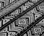 Living Textiles Tribal Smart-Swaddle Muslin Wrap - Black 4