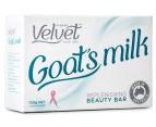 4 x Velvet Goat's Milk Replenishing Beauty Bar 100g 2