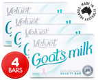 4 x Velvet Goat's Milk Replenishing Beauty Bar 100g 1