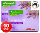 2 x Natural Selections Relaxing Lavender Oil Health Soap 5pk 1