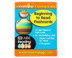 ABC Reading Eggs: Beginning To Read Flashcards Ages 4-6 Years Pack 1