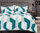 Gioia Casa Oliver Queen Bed Quilt Cover Set - Mixed 1