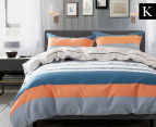 Gioia Casa Nick King Bed Quilt Cover Set - Mixed 1