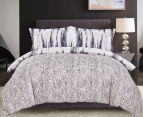 Gioia Casa Jungle King Bed Quilt Cover Set - Mixed 2