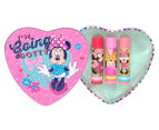 Lip Smacker Minnie Mouse I'm Going Dotty 3-Piece Heart Tin 1