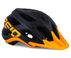 Reid Cycles Evolution Mountain Bike Helmet - Black/Orange 1