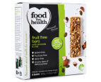 3 x Food For Health Fruit Free Bars Almond & Chia 6pk 2
