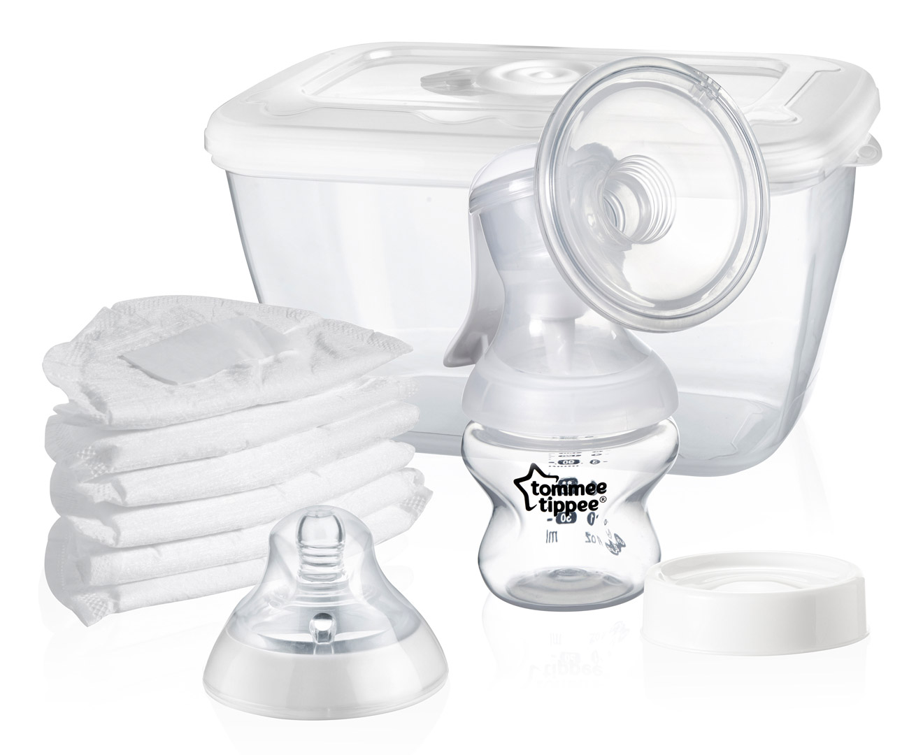 tommee tippee closer to nature manual breast pump instructions