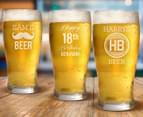 Personalised Standard Beer Glass 285mL 5