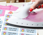 Personalised Iron-On Clothing Labels - 44-Pack 2
