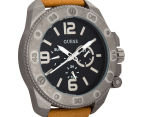 GUESS Men's 46mm Viper Watch - Sand/Grey/Black 2