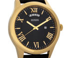 GUESS Men's 44mm Metropolitan Watch - Black/Gold 2