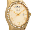 GUESS Women's 37mm Cosmopolitan Watch - Gold 2