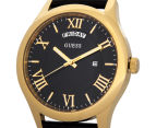 GUESS Men's 44mm Metropolitan Watch - Black/Gold 3